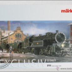 Hobbys: CATÁLOGO / REVISTA DE MAQUETAS DE TRENES - MÄRKLIN, EN FRANCÉS - SÉRIES UNIQUES 2005. 2/2005. Lote 45702264
