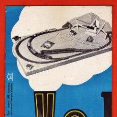 Hobbys: REVISTA MODELISMO FERROVIARIO - HO RIVAROSSI Nº 2 - ITALIANO - TREN / FERROCARRIL - FOTO - AÑO 1954. Lote 46143370