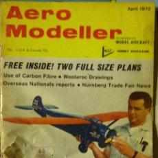 Revista aeromodelismo. Aero Modeller . Inglés USA . 1972 . Alguna foto recortada