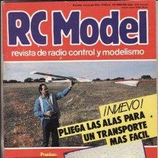 Hobbys: REVISTA RC MODEL Nº 61 AÑO 1986. RC START. PLANOS: PLEGABLE Y TREN RETRACTIL.. Lote 47147350
