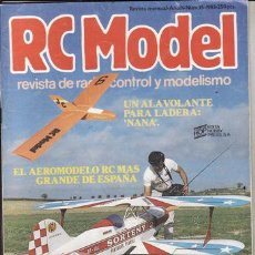 Hobbys: REVISTA RC MODEL Nº 35 AÑO 1983. PITTS A ESCALA 1/2. COCHES: SUBARU BRAT DE TAMIYA. BARCOS: HIDROPAL. Lote 47363481