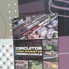 Hobbys: LIBRO REVISTA NUEVA CIRCUITOS PARA MAQUETAS FERROVIARIAS - TREN MANÍA AÑO 2002 - MAQUETAS DE TRENES. Lote 56706283