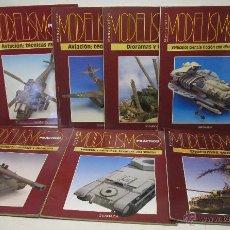 Hobbys: LOTE 7 MONOGRAFIAS MODELISMO PRÁCTICO - GRANADA EDICIONES - TAMBIÉN SUELTOS. Lote 48161245