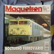 Hobbys: REVISTA MAQUETREN NUMERO 5 , LOCOMOTORA 269 RENFE. Lote 49099289