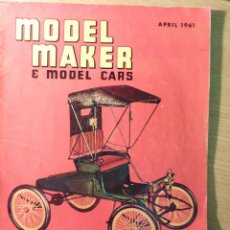 Hobbys: MODEL MAKER REVISTA MODELISMO COCHES, BARCOS 1961 INGLES. Lote 49387682