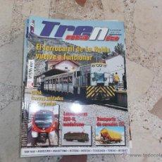 Hobbys: TRENMANIA Nº 15,280-N,TRANSPORTES DE CEREALES II PARTE,PIONEER ZEPHYR,CIVIA, FERROCARRIL DE LA ROBLA. Lote 49441095