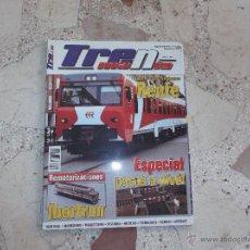 Hobbys: TRENMANIA Nº 5,ESPECIAL PASOS A NIVEL,MODERNIZACION RENFE,LA C-LINER DE LIKE LIFE,LUCES INTERMITENTE. Lote 101283598