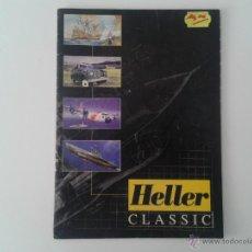 Hobbys: CATALOGO MAQUETAS HELLER 1997 MODELISMO FIGURAS CARROS AVIONES A ESCALA. Lote 49481559