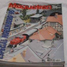 Hobbys: MAQUETREN Nº 35. NUREMBERG 95'. DIORAMAS. FEISCHMANN. INTER HOBBY '95. JEREZ- SIERRA. TALGO. LISBOA.. Lote 206981763