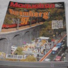 Hobbys: MAQUETREN Nº 54. ESPECIAL NUREMBERG 1997. LX REAL Y MINIATURA. JUGUETE ESPAÑOL Y FERROCARRIL.. Lote 206981588