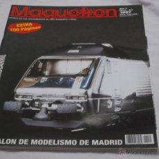 Hobbys: MAQUETREN Nº 61. SALON DEL MODELISMO DE MADRID. FERROCARRIL SUIZO. MODELO DE HAG EN HO.. Lote 206982826