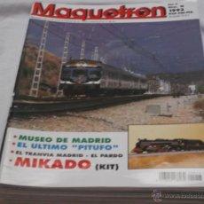 Hobbys: MAQUETREN Nº 16. MUSEO MADRID. EL ÚLTIMO PITUFO. MIKADO. EL TRANVIA MADRID- EL PRADO. MAQUETA HUKO.. Lote 206760118