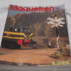 Hobbys: MAQUETREN Nº 26. RENFE- EUROFIMA. OMNIBUS. OVIEDO. OMNIBUS. CONCURSO FOTOGRAFICO EN MINIATURA.. Lote 206760233