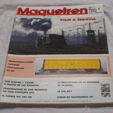 Hobbys: MAQUETREN Nº 6. VIAJE A SEGOVIA. TRANSFORMACIONES VAGONES PORTUGUESES EN HO. CURSO ELECTRONICA.. Lote 206760383