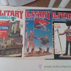 Hobbys: -LOTE MILITARY MODELLING 1991 -3 REVISTAS -INGLES. Lote 50086038