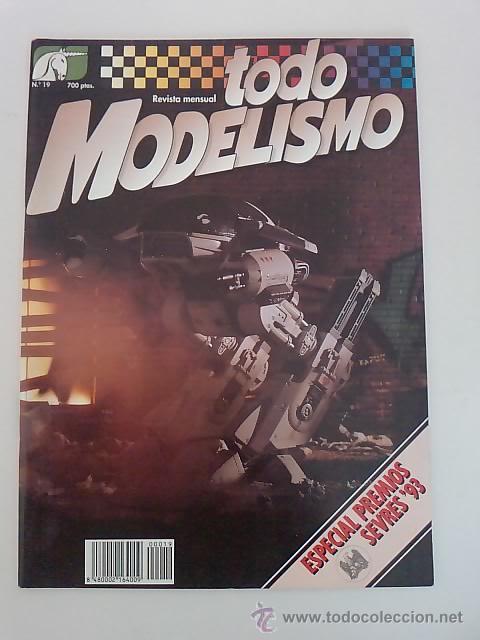 TODO MODELISMO -Nº19 -1994 (Juguetes - Modelismo y Radiocontrol - Revistas)