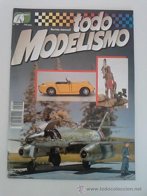 TODO MODELISMO -Nº16 -1993 (Juguetes - Modelismo y Radiocontrol - Revistas)