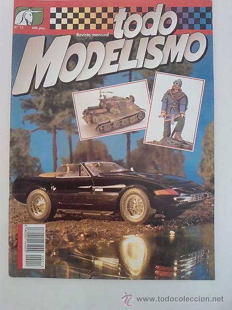 TODO MODELISMO -Nº13 -1993 (Juguetes - Modelismo y Radiocontrol - Revistas)