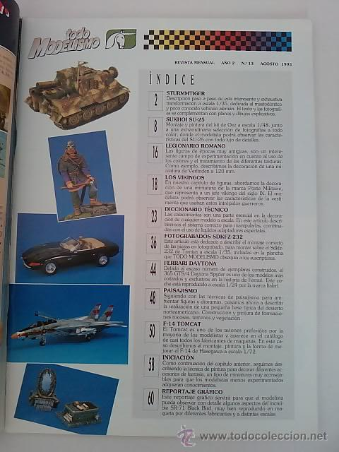 Hobbys: TODO MODELISMO -Nº13 -1993 - Foto 2 - 50086601