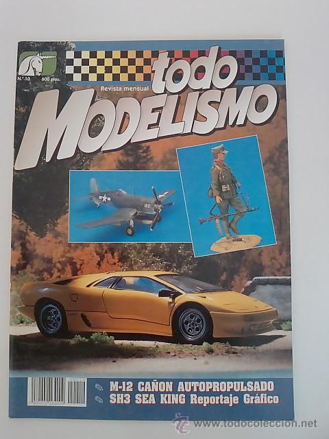 -TODO MODELISMO -Nº10 -1993 (Juguetes - Modelismo y Radiocontrol - Revistas)