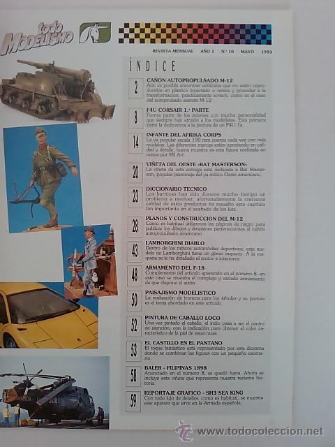 Hobbys: -TODO MODELISMO -Nº10 -1993 - Foto 2 - 50086677