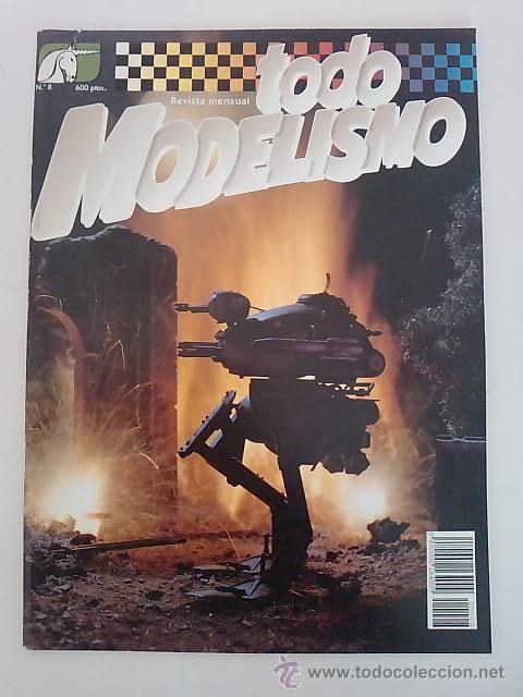-TODO MODELISMO -Nº8 -1993 (Juguetes - Modelismo y Radiocontrol - Revistas)