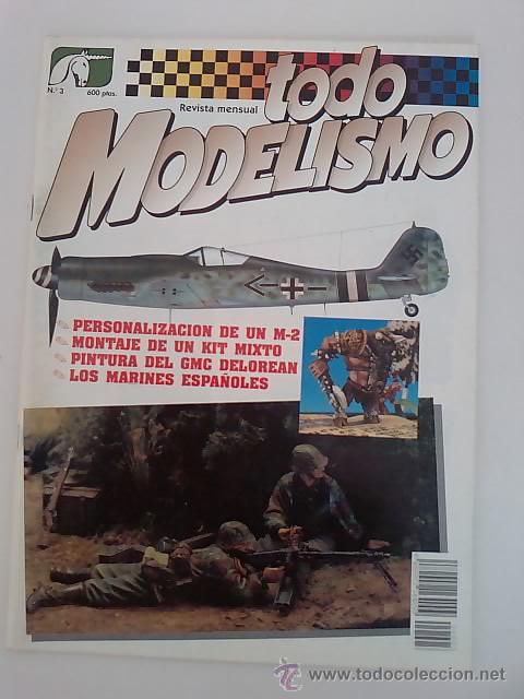 TODO MODELISMO -Nº3 -1992 (Juguetes - Modelismo y Radiocontrol - Revistas)
