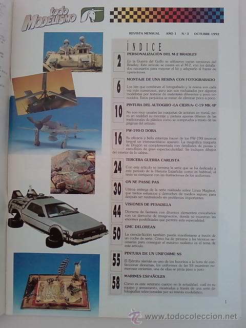 Hobbys: TODO MODELISMO -Nº3 -1992 - Foto 2 - 50086769