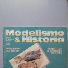 Hobbys: MODELISMO E HISTORIA Nº 39. AMX 30 EN ESPAÑA. Lote 50115435