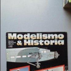 Hobbys: MODELISMO E HISTORIA Nº 40. CAMUFLAGE E INSIGNIAS AVIACION REPUBLICANA. Lote 50115440