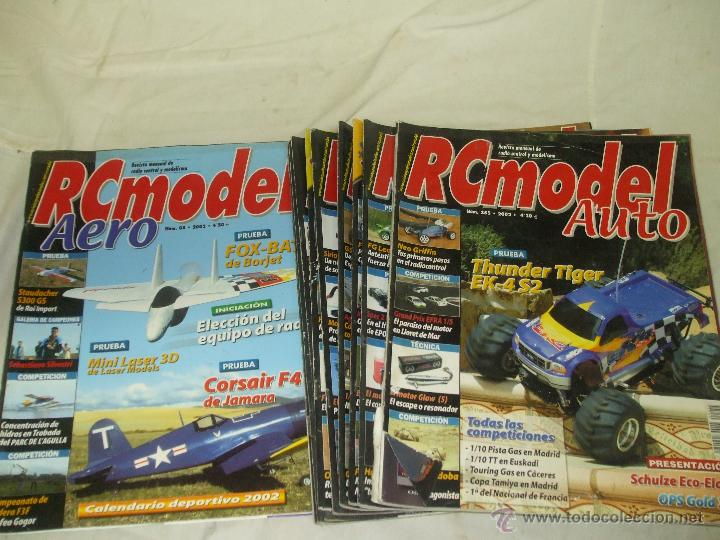 REVISTA RC MODEL AUTO + RC MODEL AERO. (Juguetes - Modelismo y Radiocontrol - Revistas)