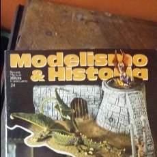 Hobbys: MODELISMO E HISTORIA Nº 24. CARRO RENAULT FT-17 EN ESPAÑA. Lote 50819923