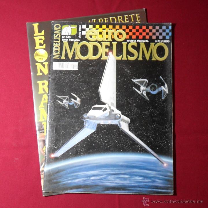 EURO MODELISMO #103 + LEON RAMPANTE PORTFOLIO (Juguetes - Modelismo y Radiocontrol - Revistas)