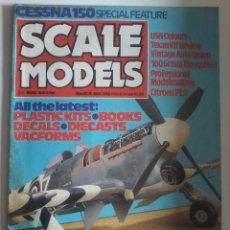 REVISTA MODELISMO -SCALE MODELS-MARZO 1981