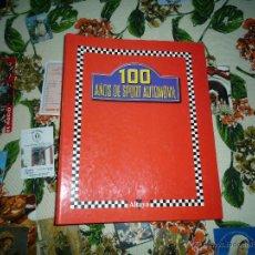 Hobbys: 100 AÑOS DE SPORT AUTOMOVIL 2 CARPETAS ARCHIVADORAS CON LOS FASCÍCULOS EDITORIAL ALTAYA AÑO 2001. Lote 52564351
