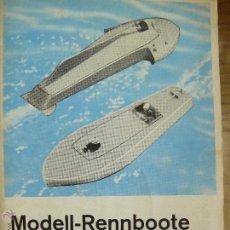 Hobbys: MODELL RENNBOOTE OTTO MAIER HERBERT KILGUS. Lote 52940189