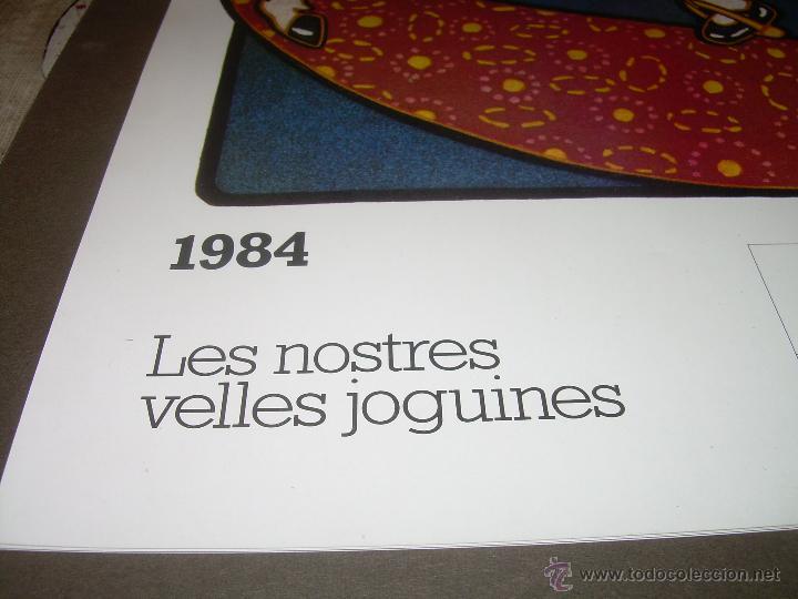 Hobbys: CALENDARIO DE PARED..... DE JUGUETES ANTIGUOS....AÑO 1.984 - Foto 2 - 53500610