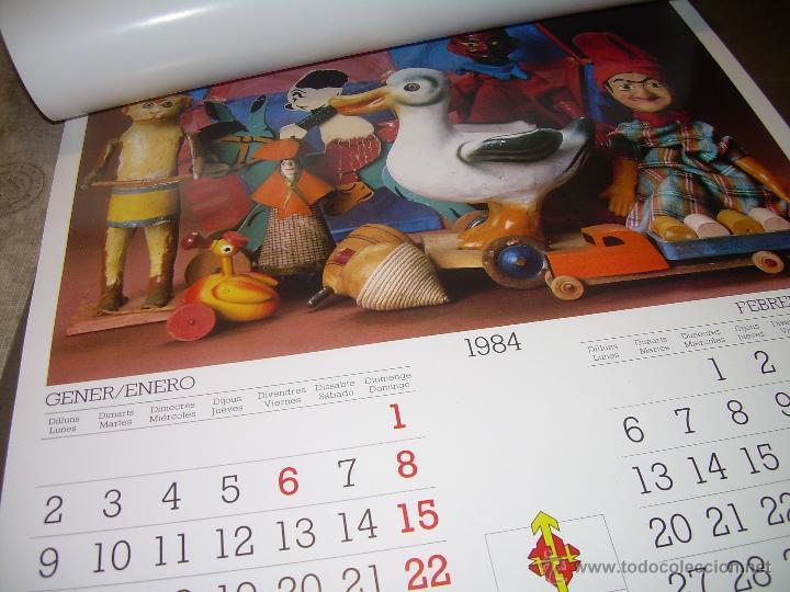 Hobbys: CALENDARIO DE PARED..... DE JUGUETES ANTIGUOS....AÑO 1.984 - Foto 3 - 53500610