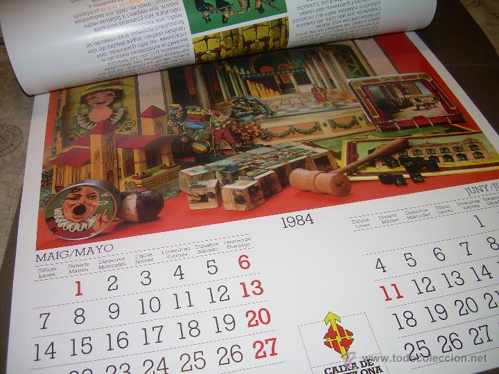 Hobbys: CALENDARIO DE PARED..... DE JUGUETES ANTIGUOS....AÑO 1.984 - Foto 5 - 53500610
