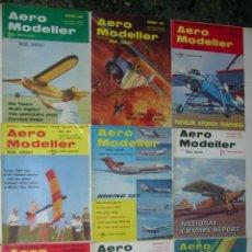 Hobbys: LOTE DE 10 REVISTAS AERO MODELLER AÑO 1967. TEXTO EN INGLES. EN BUEN ESTADO.. Lote 53877040