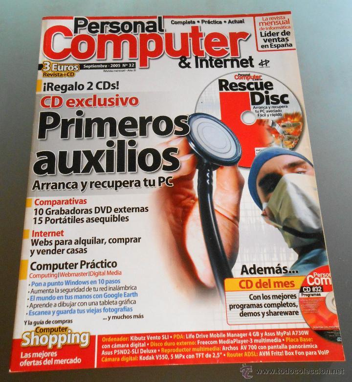 PERSONAL COMPUTER 2005 (Juguetes - Modelismo y Radiocontrol - Revistas)