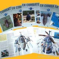 Hobbys: LOTE 7 FASCÍCULOS EN COMBATE (HELICÓPTEROS DE COMBATE). Lote 55156105