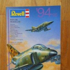 Hobbys: CATALOGO MAQUETAS REVELL 94/95. Lote 55236738