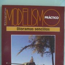 Hobbys: MONOGRAFIAS DE MODELISMO PRACTICO : DIORAMAS SENCILLOS. Lote 56832811