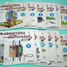 Hobbys: MARQUETERIA Y ELECTRICIDAD - SALVATELLA. Lote 56846690