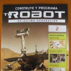 Hobbys: CONSTRUYE Y PROGRAMA TU ROBOT DE ULTIMA GENERACION Nº 2 PLANETA DEAGOSTINI. Lote 57120124