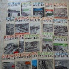 Hobbys: LOTE DE 25 REVISTAS RAILWAY MODELLER. AÑOS 60. EN INGLÉS.. Lote 57177962