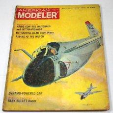 Hobbys: REVISTA DE MODELISMO AMERICAN MODELER, ENERO FEBRERO 1964, EN INGLES. Lote 57190844