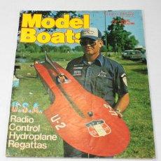 Hobbys: REVISTA DE MODELISMO MODEL BOATS, FEBRERO 1981, EN INGLES. Lote 57191238