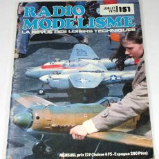 Hobbys: REVISTA DE MODELISMO RADIO MODELISME, JULIO 1979, EN FRANCES. Lote 57191335